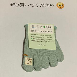 クツシタヤ(靴下屋)の☆レモネード様専用☆TABIOLEGLABO 気持ちのいいシルクの靴下(靴下/タイツ)