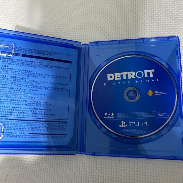 PlayStation4(プレイステーション4)のDetroit: Become Human PS4 エンタメ/ホビーのゲームソフト/ゲーム機本体(家庭用ゲームソフト)の商品写真