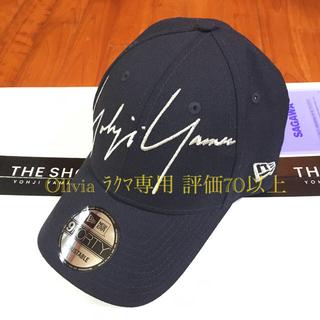 Yohji Yamamoto - 【新品】ヨウジヤマモト  ニューエラ  9FORTY キャップ ブラック