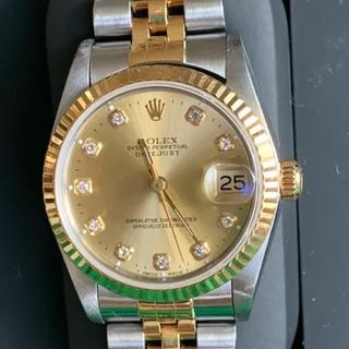 ロレックス(ROLEX)の腕時計 ロレックス ディトジャスト 10Pダイヤコンビ(腕時計)