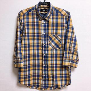 ハレ(HARE)のHARE ハレ チェック シャツ Sサイズ 5分袖 五分袖 メンズ チェック柄(シャツ)