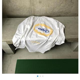 ビームス(BEAMS)のciatre cloud logo tee L/S WHT(Tシャツ/カットソー(七分/長袖))