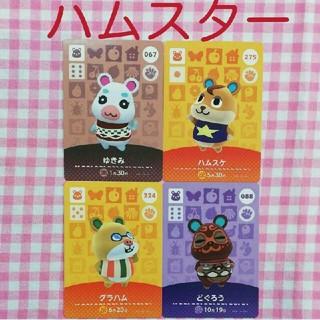 任天堂 - amiibo カード アミーボ  あつ森 どう森 どうぶつの森 ゆきみ ハムスケ