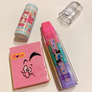 ディズニー(Disney)のディズニー ロケット消しゴム セット(消しゴム/修正テープ)