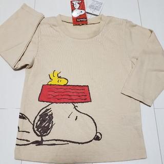 スヌーピー(SNOOPY)の新品タグ付きスヌーピーSNOOPY長袖Tシャツ95センチロンT(Tシャツ/カットソー)
