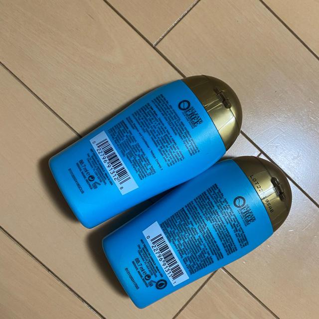 Moroccan oil(モロッカンオイル)のOGX renewing argan oil of morocco 88.7ml コスメ/美容のヘアケア/スタイリング(シャンプー/コンディショナーセット)の商品写真