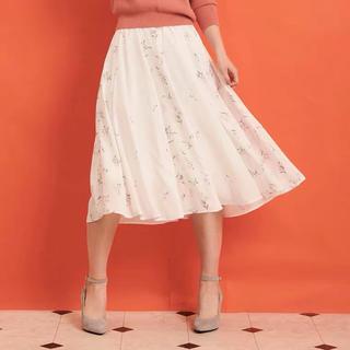 ノエラ(Noela)のノエラ スプリングブーケ柄スカート(ひざ丈スカート)