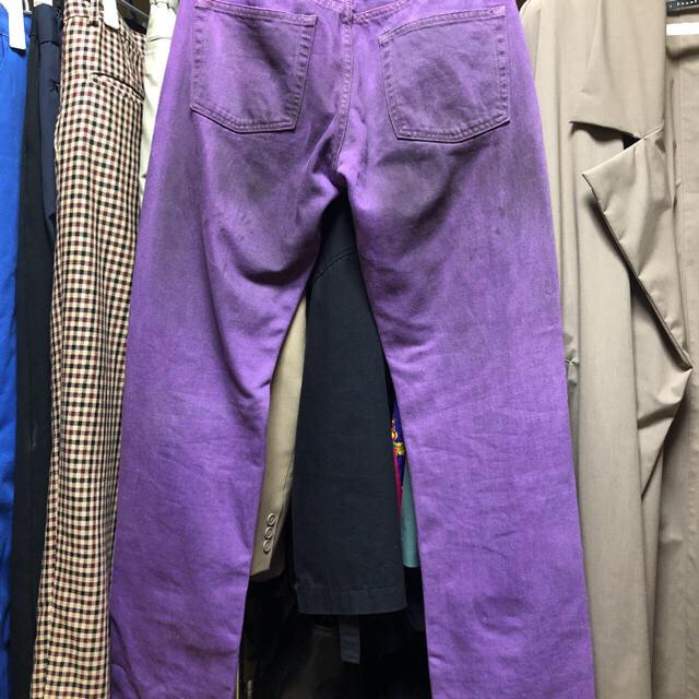 JOHN LAWRENCE SULLIVAN(ジョンローレンスサリバン)のカラーデニム パンツ メンズのパンツ(デニム/ジーンズ)の商品写真