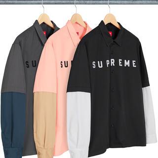 Supreme - 【Lサイズ】 2-Tone Work Shirt supreme 2020aw