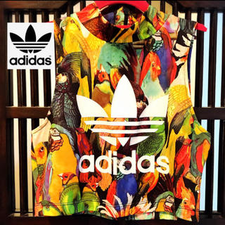 adidas - アディダス 花柄 オウム ボタニカル Tシャツ タンクトップ ジャージ SML