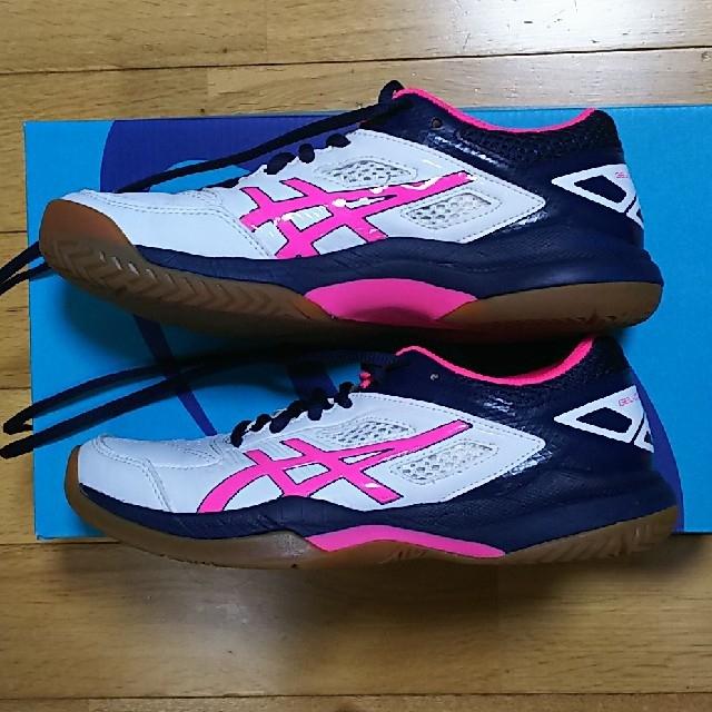 asics(アシックス)の【未使用】asicsテニスシューズ23.0 スポーツ/アウトドアのテニス(シューズ)の商品写真