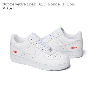Supreme - supreme af1  白 white 27cm