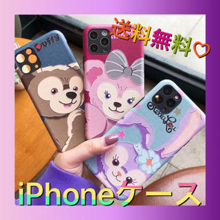 Disney - iPhone X/XS/ダッフィー/残りわずか/ストラップホール付き/送料無料