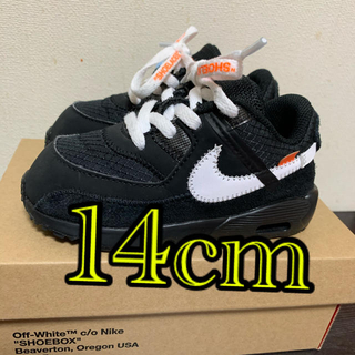 NIKE - NIKE Off-White the10 air max90 美品