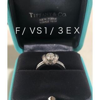 Tiffany & Co. - ティファニーダイヤモンドリボンリング
