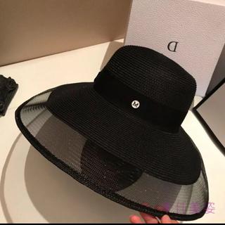 エイミーイストワール(eimy istoire)の新品👜デザイナーcocoシースルー女優帽(キャスケット)
