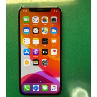 アイフォーン(iPhone)のiPhone X Silver 64gb Simフリー残債なし(スマートフォン本体)