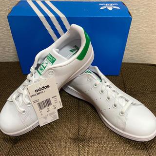 アディダス(adidas)の新品 アディダス スタンスミス グリーン 23.5(スニーカー)
