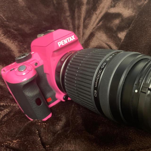 PENTAX(ペンタックス)のPENTAX K-r【極上美品】55-300mmレンズセット【最終価格】 スマホ/家電/カメラのカメラ(デジタル一眼)の商品写真