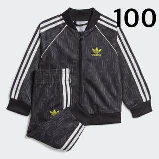 adidas - お値下げ価格!アディダスキッズ★ジャージセットアップ100cm