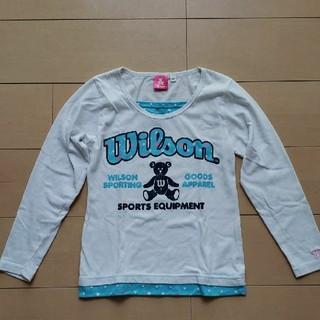 ウィルソン(wilson)のWilson ウィルソン ロンT 女児 140㎝(Tシャツ/カットソー)