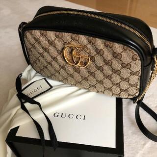 Gucci - 確実正規品 新作GGマーモント GUCCIショルダーバッグ