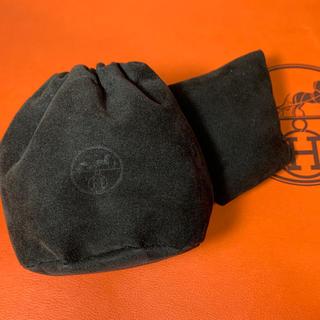 エルメス(Hermes)の美品■HERMES エルメス 時計用 保存袋 巾着 ポーチ クッション (ショップ袋)