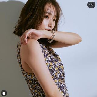 Mila Owen - Mila Owen 花柄切替ギャザーワンピース♡