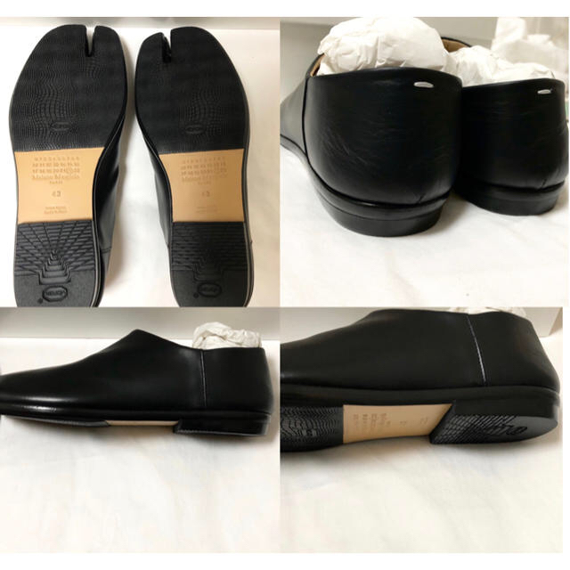 Maison Martin Margiela(マルタンマルジェラ)のMaison Margiela  Tabi BABOUCHE  43 メンズの靴/シューズ(スリッポン/モカシン)の商品写真
