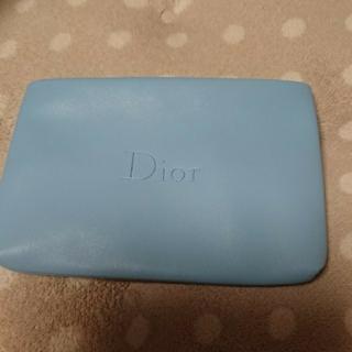 クリスチャンディオール(Christian Dior)の【新品・未使用】ディオール  水色ポーチ(ポーチ)