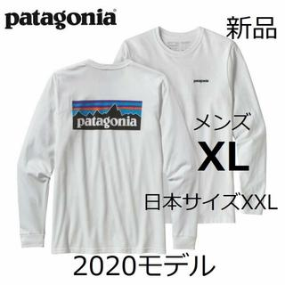 patagonia - 送料込み メンズXL パタゴニア P-6ロゴ ロンT ホワイト 国内正規品 長袖
