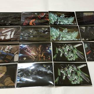 バンダイ(BANDAI)の機動戦士ガンダム ヴィジュアルコレクション 15枚セット(キャラクターグッズ)