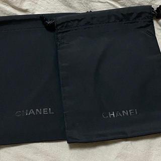シャネル(CHANEL)のCHANEL シャネル 巾着 2枚セット(ポーチ)