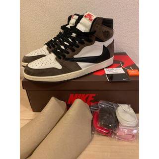 NIKE - AIR JORDAN1 HIGH OG Travis Scott 28.5cm