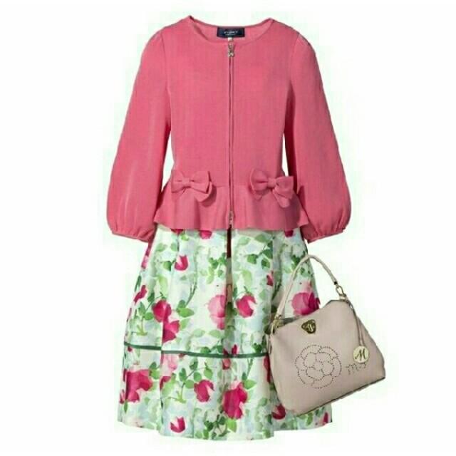 M'S GRACY(エムズグレイシー)のエムズグレイシー web 掲載スカート色違い レディースのスカート(ひざ丈スカート)の商品写真