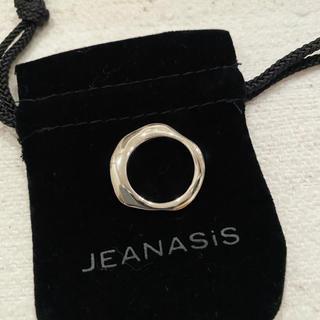 JEANASIS - 【新品】ジーナシス / シルバー変形ラインリング