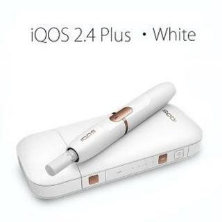 IQOS - アイコス 2.4plus ホワイト IQOS 本体 未開封 未登録 送料無料