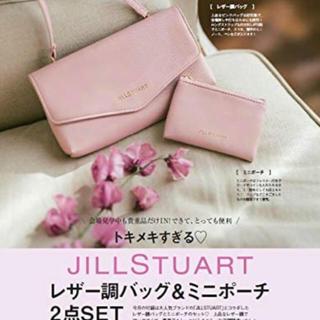 JILLSTUART - ゼクシィ 10月号 付録 JILLSTUARTバッグ&ポーチ