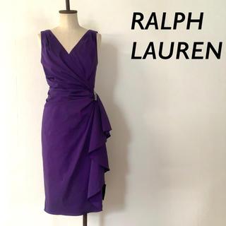 Ralph Lauren - 【新品 タグ付】LAUREN Ralph Lauren パーティ ドレス