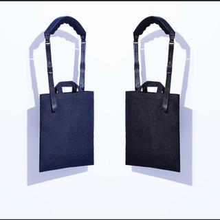 コムデギャルソン(COMME des GARCONS)のコムデギャルソンオムドゥ×ポータークラシック トートバッグ (黒)(トートバッグ)