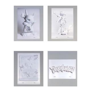 ポケモン(ポケモン)のDaniel Arsham × Pokmon × 2G ポスター 4種セット(ポスター)