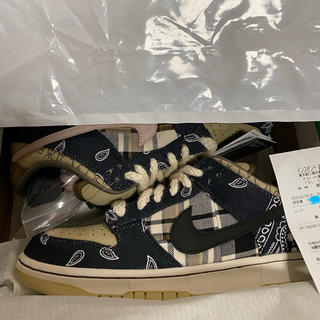 NIKE - TRAVIS SCOTT ×NIKE DUNK LOW PRM QS  27cm