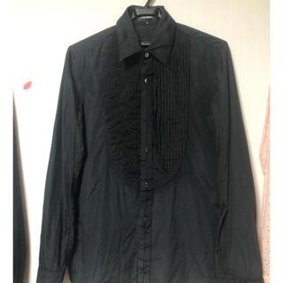 コムデギャルソン(COMME des GARCONS)のATTACHMENT ピンタックドレスシャツ(シャツ)