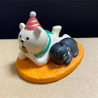 デコレ コンコンブル ビスケットサンタ熊ちゃん(置物)