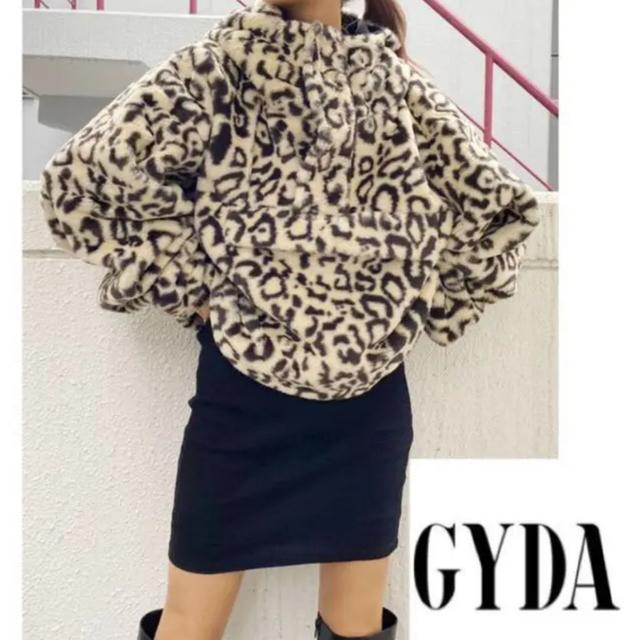 GYDA(ジェイダ)のGYDAアノラックショートパーカー レディースのトップス(パーカー)の商品写真