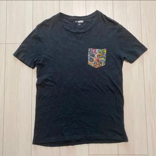 エイチアンドエム(H&M)のH&M マーベルTシャツ ポケットTシャツ(Tシャツ/カットソー(半袖/袖なし))