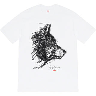 Supreme - Lサイズ Supreme Yohji Scribble Wolf Tee 新品