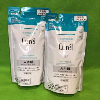 キュレル(Curel)のキュレル 入浴剤 つめかえ用 360ml 2個(ボディソープ/石鹸)