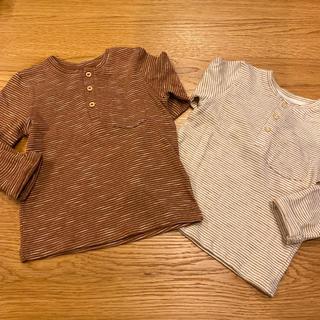 エイチアンドエム(H&M)のH&M♡ロンT 80 ヘンリーネック(Tシャツ)