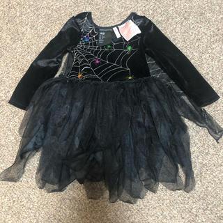 H&M - H&M ハロウィン スパイダー ドレス 92サイズ